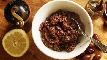 Tapenade the olive spread recipe
