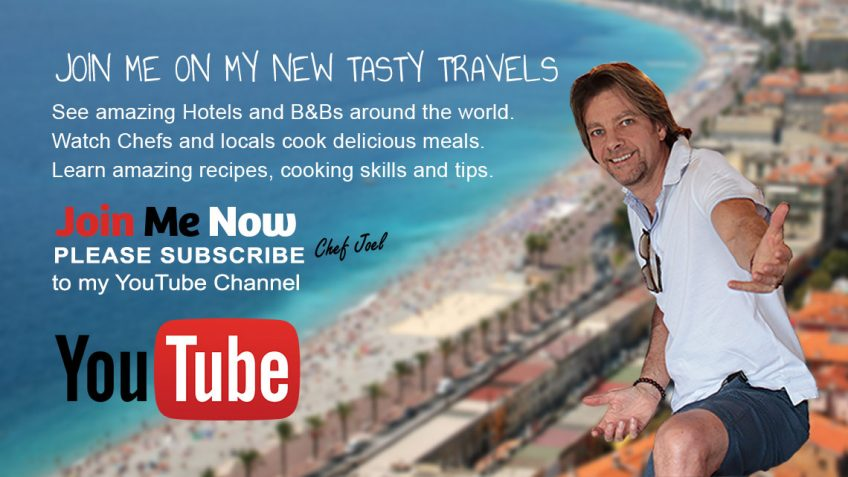 Tasty Travels by Chef Joel Mielle