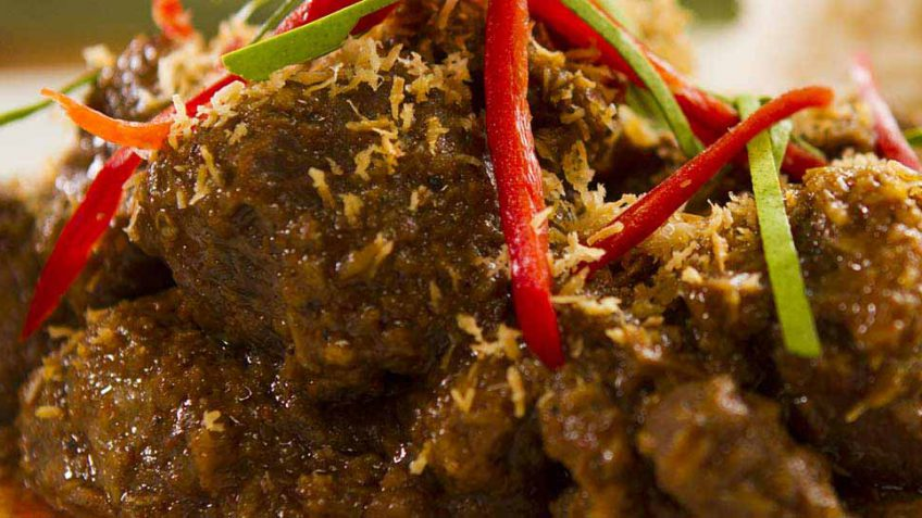 Indonesian Rendang Beef Curry - Easy Meals with Video Recipes by Chef Joel  Mielle - RECIPE30