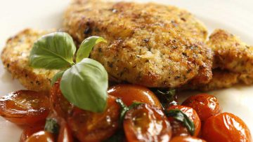 The best chicken schnitzel Italian recipe