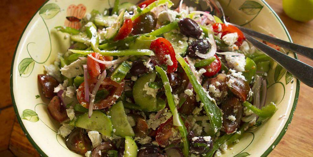 Mediterranean Greek Salad