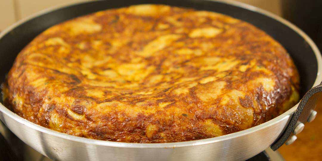 Spanish Omelette Few Ingredients Easy Meals With Video Recipes By Chef Joel Mielle Recipe30