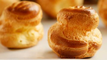 How to make the perfect choux pastry