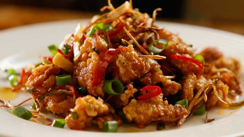 Spicy Garlic Fried Chicken Easy Meals With Video Recipes By Chef