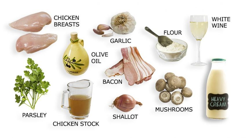 Chicken Supreme Ingredients