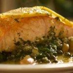 Salmon Picatta recipe