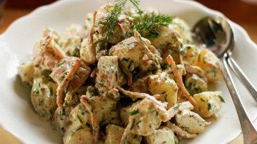 No Mayo Summer Potato Salad