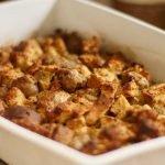 Italian Sausage Turkey Stuffing