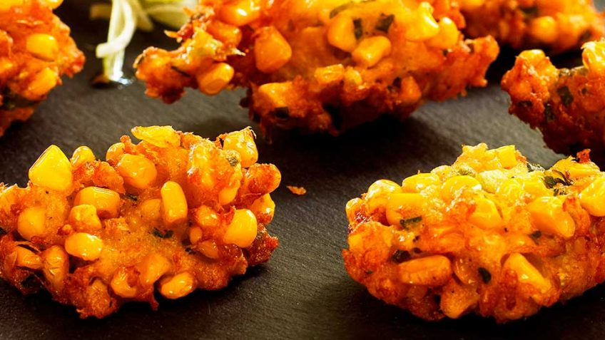 Corn and Crab fritters recipe