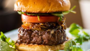 The Ultimate Beef Cheese Burger