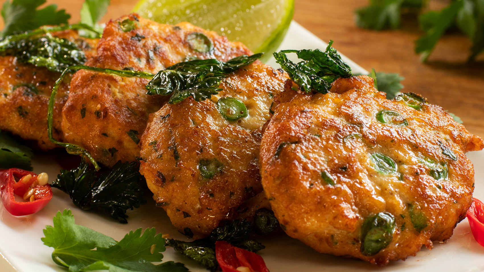 Simple Thai Fish Cakes With Sweet Chili Sauce Easy Meals With Video Recipes By Chef Joel