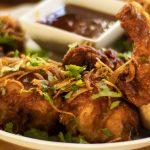 Thai Crispy Spicy Garlic Fried Chicken, Street food at home