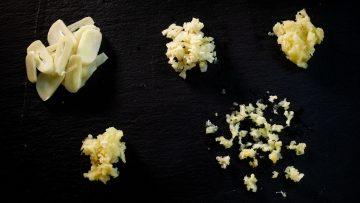 5 ways to chop garlic