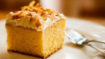 Leches Tres Cake Simple Recipe