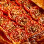 Tomato Tarte Provencale a vegetarian quick meal