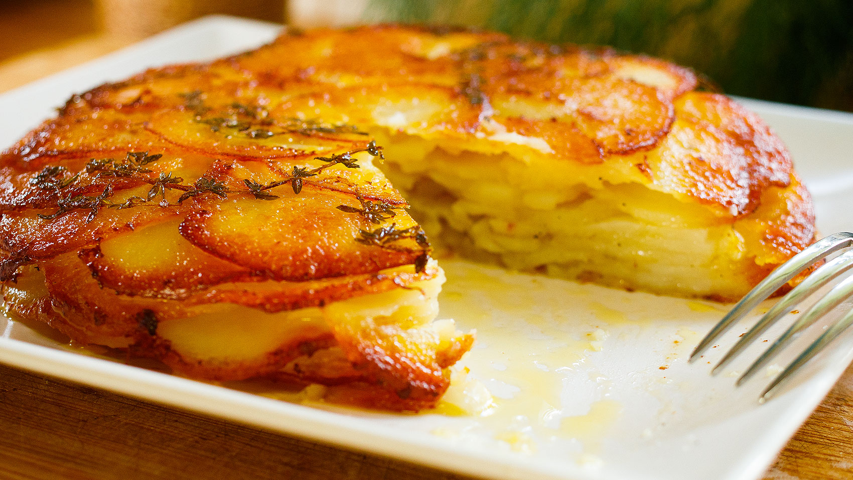 Pommes Anna Easy Meals With Video Recipes By Chef Joel Mielle Recipe30