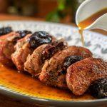 Braised Pork Tenderloin with Prunes