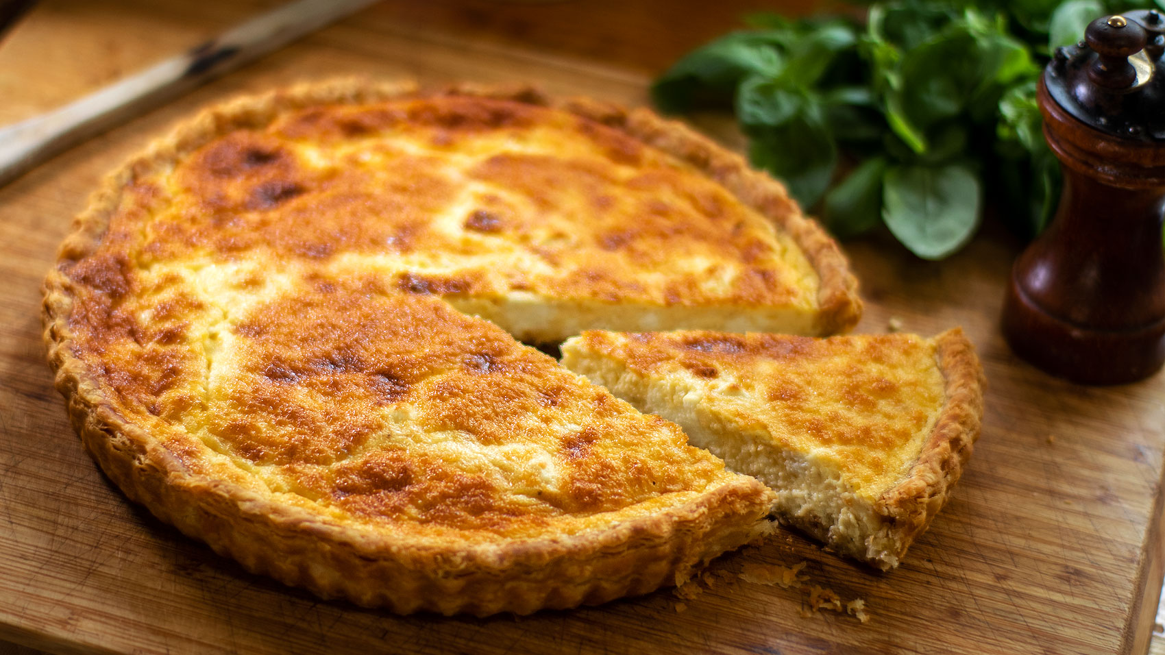Rustic Goat Cheese Quiche Easy Meals With Video Recipes By Chef Joel Mielle Recipe30