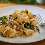 Buttery Lemon Pepper Shrimp Pasta with Spinach