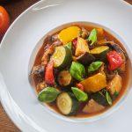 Canazzu Vegetable Stew Healthy Vegan Meal