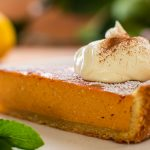 Sweet potato ricotta pie