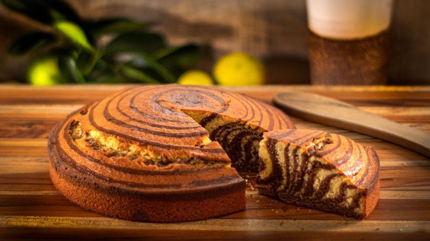 Chocolate Zebra Cake