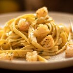 Lemon Pepper Pasta Shrimp