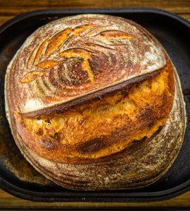 Sourdough bread whole wheat