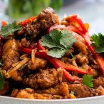 Asian Garlic Fried Chicken with Sichuan Pepper