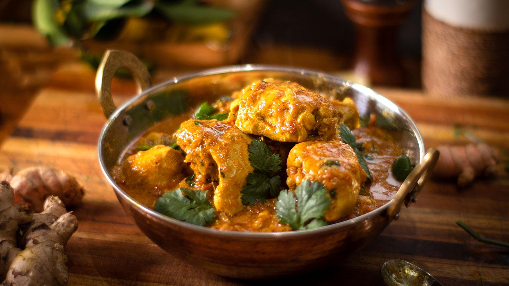 Indian Chicken Curry - Murgh Kari