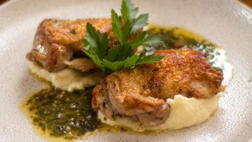 Garlic and Herb Chicken Thighs