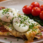 Poached eggs Italian Twisted Style